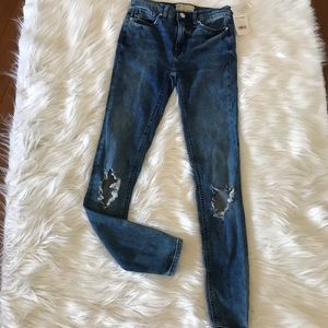 Free People jeans.